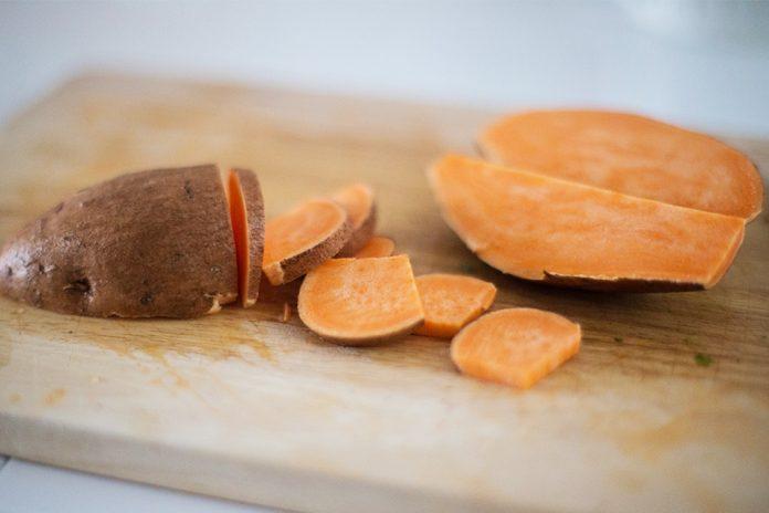 carbs in sweet potato