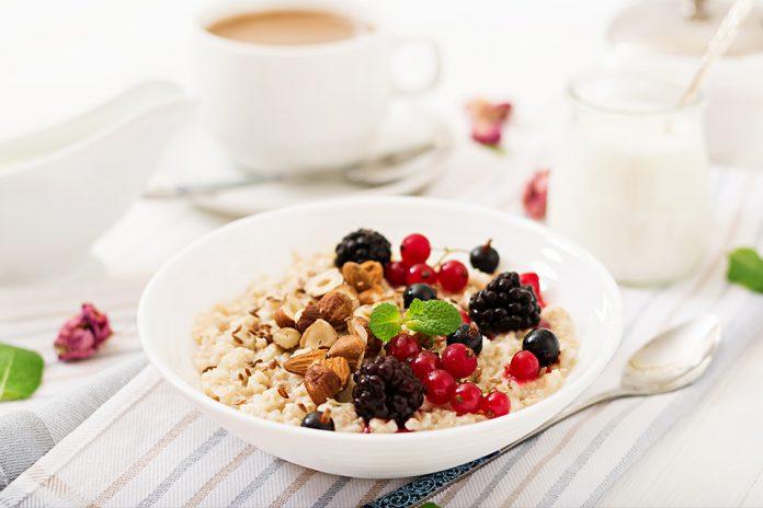 Easy healthy breakfast ideas with oats
